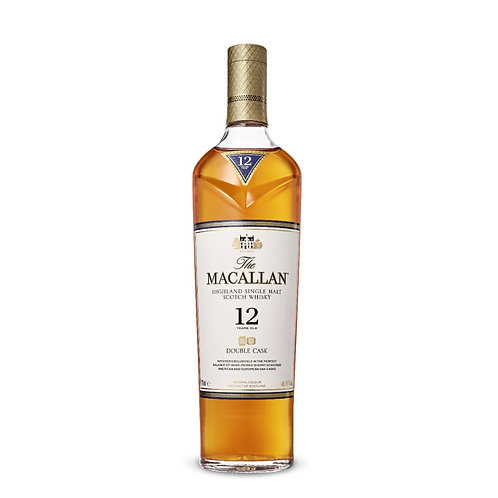MACALLAN Double Cask 12 Years Old 70cl (With Box)
