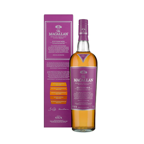 Macallan Edition No.5 Single Malt Whisky 700ml (New Arrival)