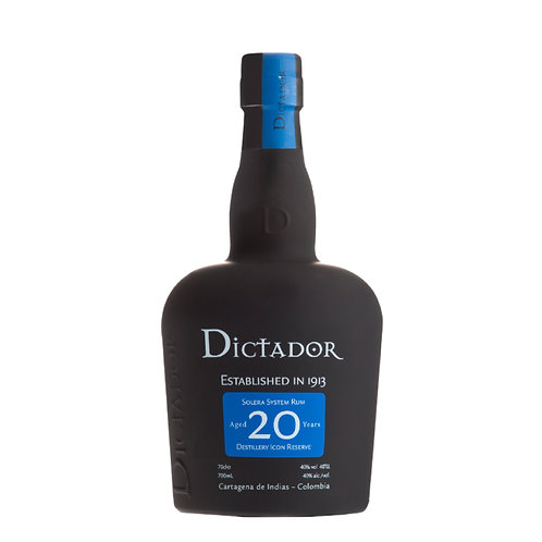 Dictador 20 Years Old Rum 700ml