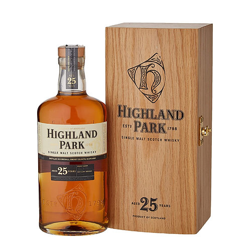 HIGHLAND PARK 25 Years Old (Limited Allocation) 70cl
