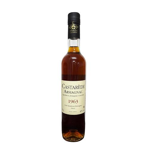 Armagnac Castarede Brandy 1963