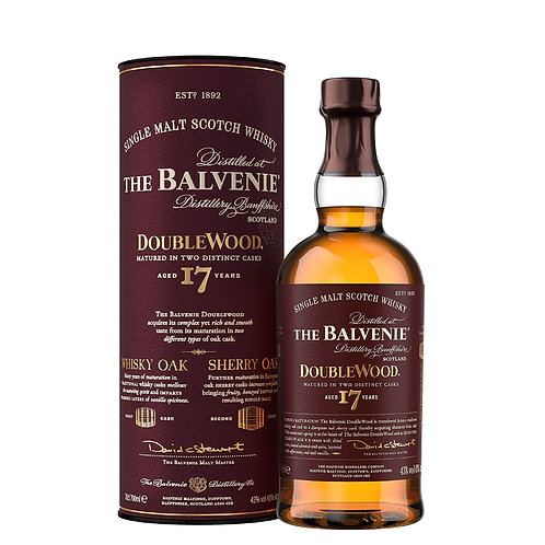 BALVENIE 17 Years Old DoubleWood 70cl