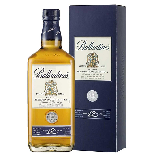 BALLANTINE'S 12 Years Old Blended Whisky 70cl