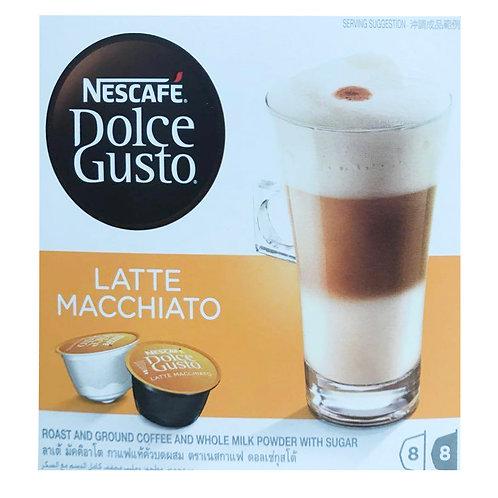 Nescafe Dolce Gusto Beverage Capsules - Latte Macchiato 8 servings