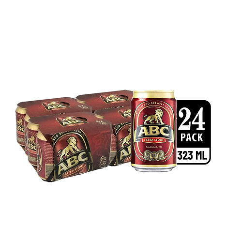 ABC Extra Stout Can 323ml (Pack of 6) x 4