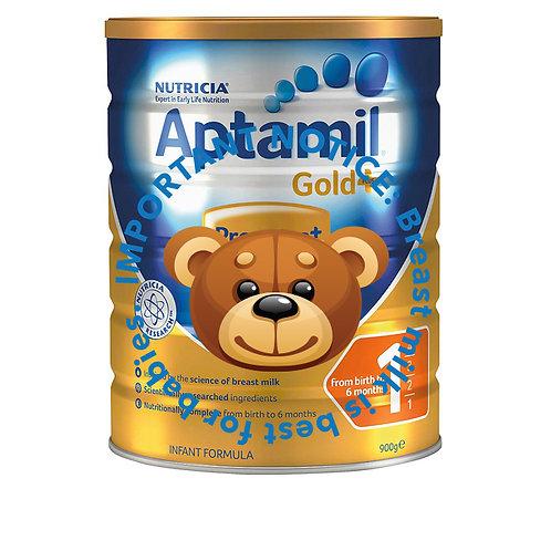 Aptamil Gold+ Infant Milk Formula - Stage 1 (900g)