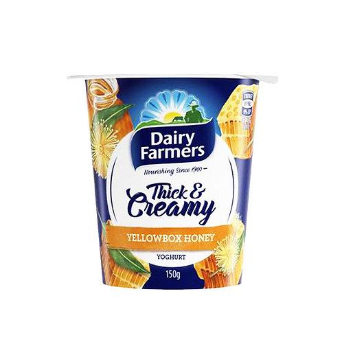 Dairy Farmers Thick & Creamy Yoghurt - Yellow Box Honey 150g
