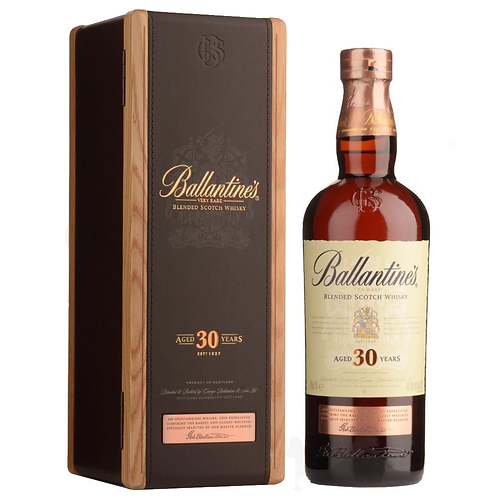 BALLANTINE'S 30 Years Old 70cl with Box