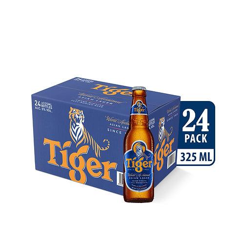 Tiger Lager Beer Bottle 325ml (Pack of 24)