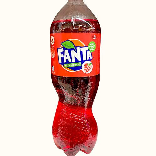 Fanta Bottle Drink - Strawberry 1.5L
