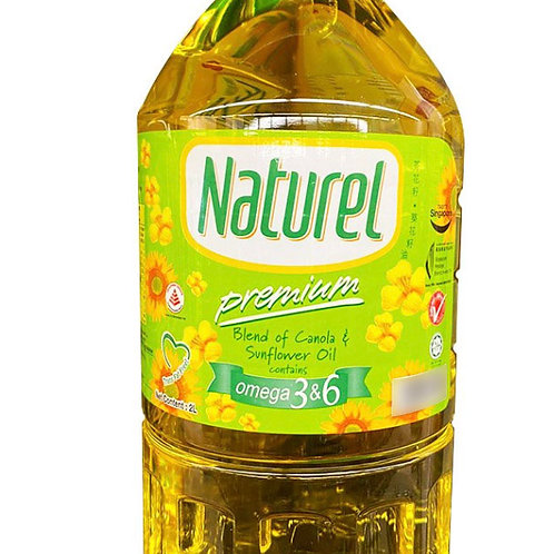 Naturel Cooking Oil - Premium Blend of Canola & Sunflower 2L