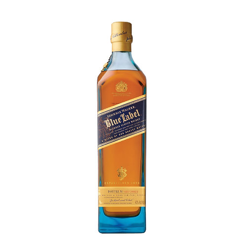 Johnnie Walker BLUE Label Whisky 0.70l 40% with Box