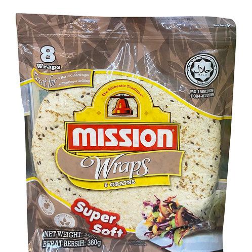 Mission Tortillas - 6 Grains