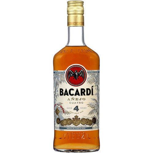 BACARDI Anejo Cuatro 4 Years Old 70cl