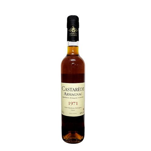Armagnac Castarede Brandy 1971