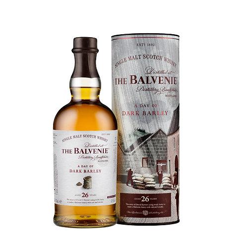 BALVENIE 26 Year Old - A Day Of Dark Barley 70cl (Pre-order 1 week arrival)