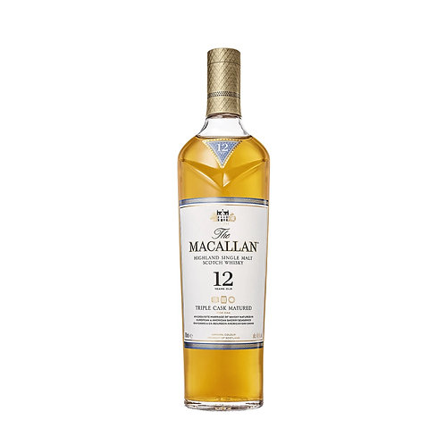MACALLAN Triple Cask 12 Years Old 70cl (With Box)