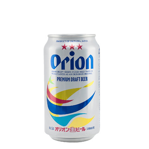 ORION DRAFT BEER CAN 5% Pack of 6 x 350ml