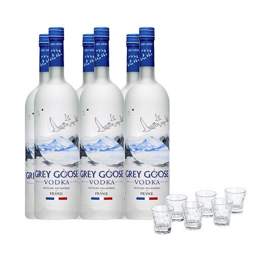 VODKA MIXER SET  FREE 6 SHOT GLASS