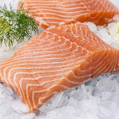 Okeanoss Frozen Salmon (Portion), 300g