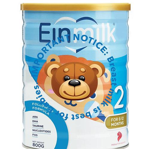 Einmilk Follow Up Milk Formula - Stage 2 (800g)