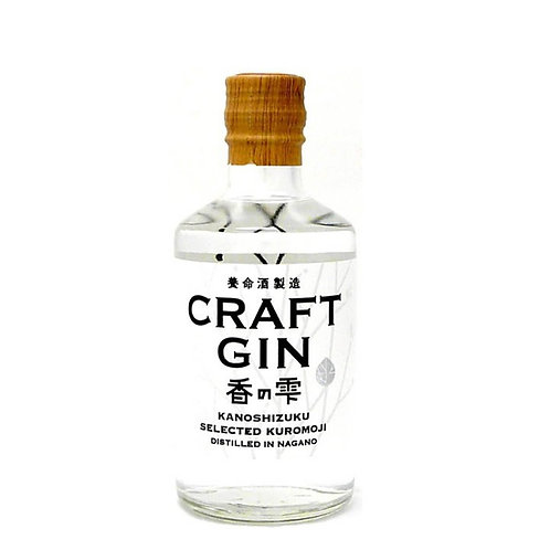 KANOSHIZUKU CRAFT GIN 37% 300ML(BY YOMEISHU)