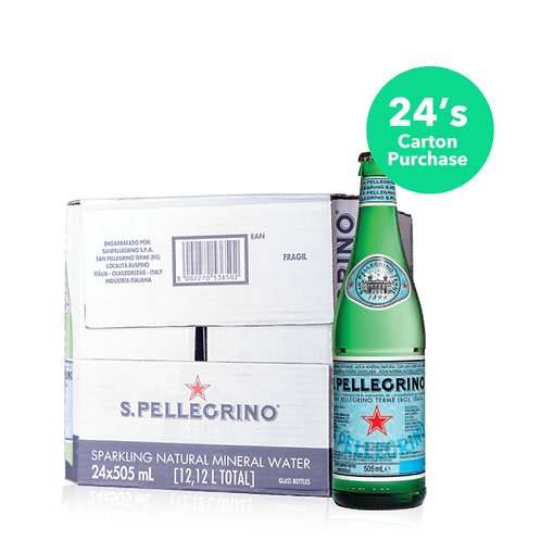 San Pellegrino 0.505l (24bots per ctn)