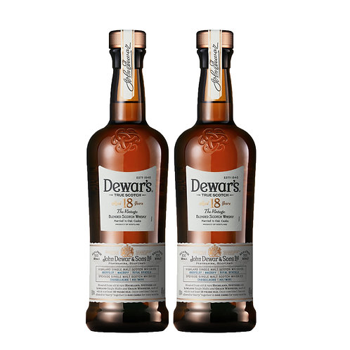 TWIN Bundle DEWAR'S Special Reserve 18 Years Old 75cl
