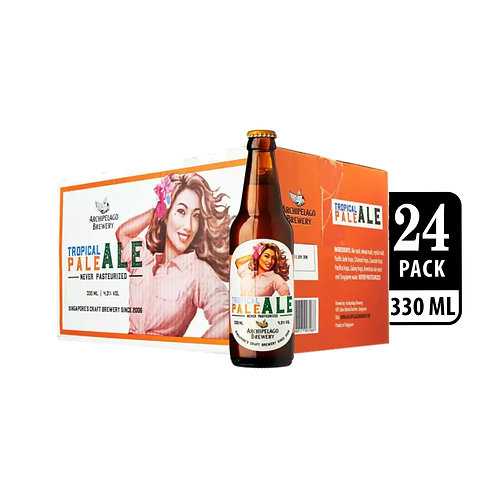 Archipelago Brewery Tropical Pale Ale Craft Beer Bottle 330ml (Pack of 4) x 6