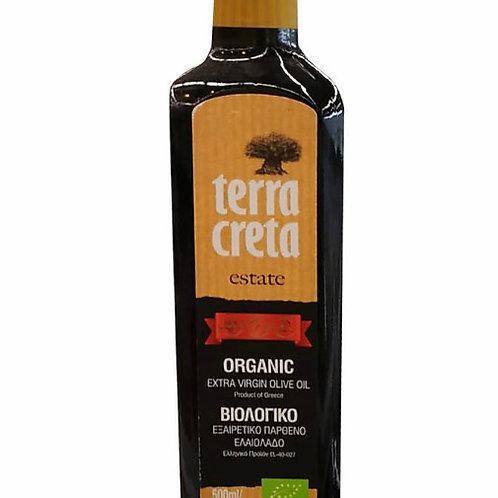 Terra Creta Estate Organic Olive Oil - Extra Virgin 500ml