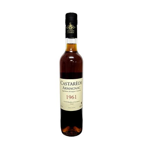 Armagnac Castarede Brandy 1961