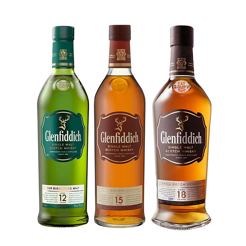 Glenfiddich Party Set With Box