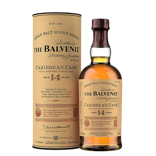 BALVENIE 14 Years Old Caribbean Cask 70cl
