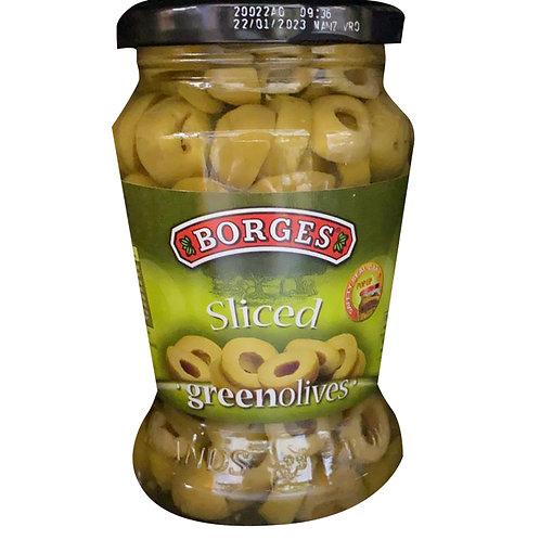 Borges Green Olives - Sliced 300g