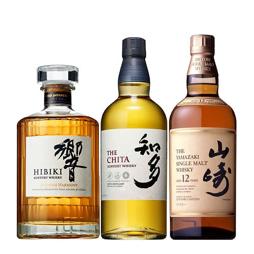Premium Suntory Whisky Bundle