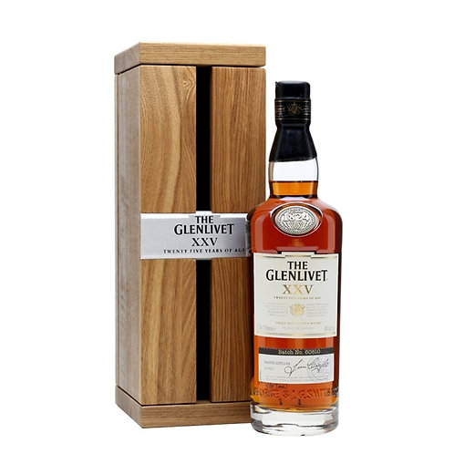 GLENLIVET 25 Years Old 70cl