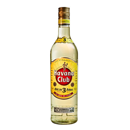 Havana Club 3 Yrs Rum 75cl
