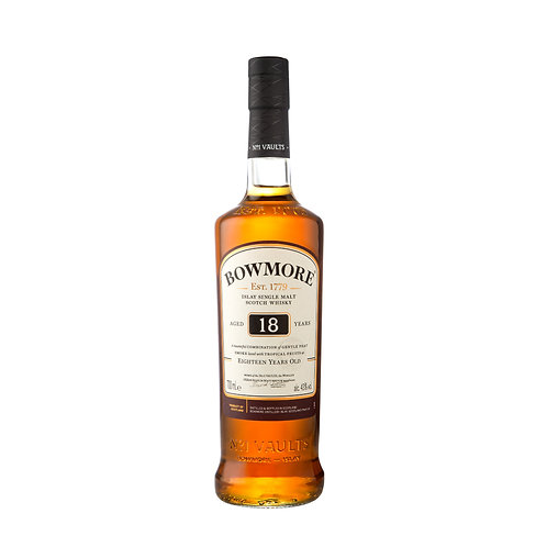 BOWMORE 18 Years Old Malt (Limited Stock) 70cl with Box