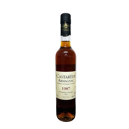 Armagnac Castarede Brandy 1987