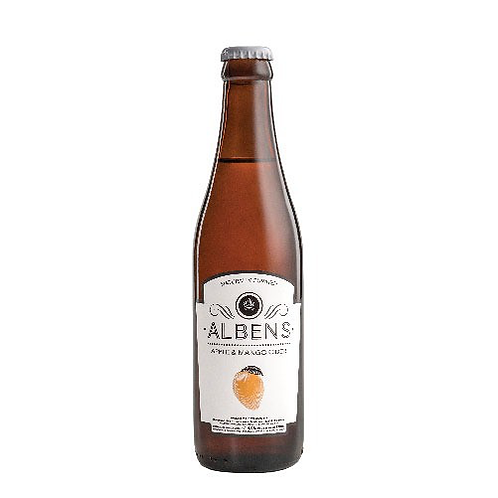 Alben's Cider Apple Mango (Pack of 24 x 330ml)