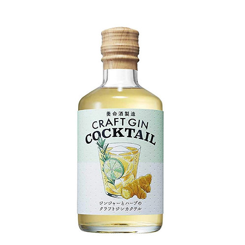 CRAFT GIN COCKTAIL GINGER AND HERBS 22% 300ML(BY YOMEISHU)