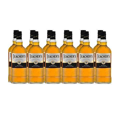 WOW DEAL - TEACHER'S Highland Cream 12 x 70cl