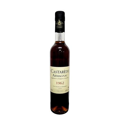 Armagnac Castarede Brandy 1962