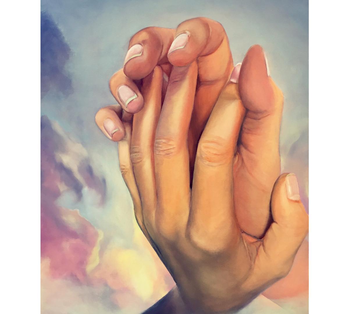 'THE HAND OF GODDESS', 2017