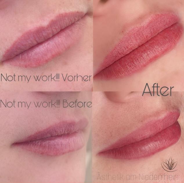 Aquarell Lips Permanent Make-up Emmerich Kleve