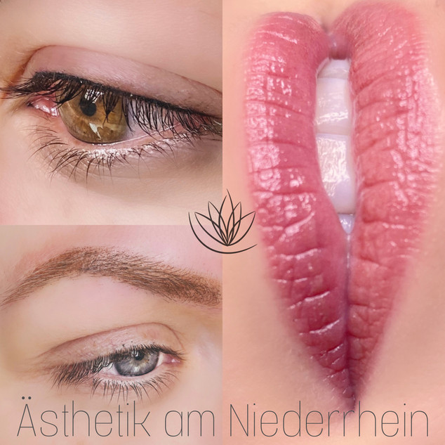 Eyliner Aquarell Lips Powder Brows