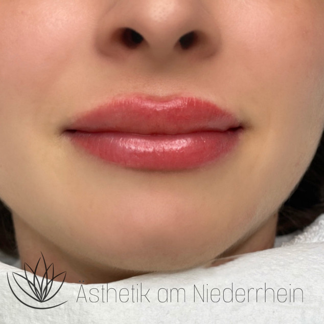Aquarell Lips Ästhetik am Niederrhein