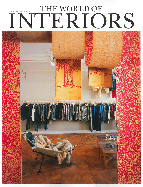 As seen in World of Interiors