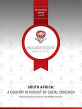 SA - A country in pursuit of Social Cohe