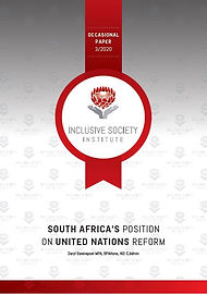 2020-3 ISI Occasional paper SA's positio